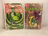 Lot of 2 Pcs Collector Vintage DC Comics  Green Lantern Comic Books No.125.132.