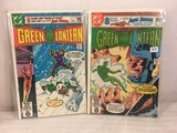 Lot of 2 Pcs Collector Vintage DC Comics Green Lantern  Comic Books No.133.134.