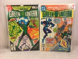 Lot of 2 Pcs Collector Vintage DC Comics Green Lantern  Comic Books No.135.136.