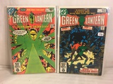 Lot of 2 Pcs Collector Vintage DC Comics Green Lantern  Comic Books No.141.145.