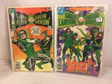 Lot of 2 Pcs Collector Vintage DC Comics  Green Lantern & green Arrow Comic Books No.10.101.