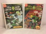 Lot of 2 Pcs Collector Vintage DC Comics  Green Lantern & green Arrow Comic Books No.104.105.