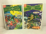 Lot of 2 Pcs Collector Vintage DC Comics  Green Lantern & green Arrow Comic Books No.106.107.
