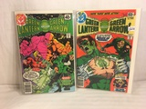 Lot of 2 Pcs Collector Vintage DC Comics  Green Lantern & green Arrow Comic Books No.110.111.