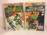 Lot of 2 Pcs Collector Vintage DC Comics  Green Lantern & green Arrow Comic Books No.112.113.