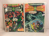 Lot of 2 Pcs Collector Vintage DC Comics  Green Lantern & green Arrow Comic Books No.118.119.