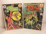 Lot of 2 Pcs Collector Vintage DC Comics Rima The Jungle Girl  Comic Books No.3.4.