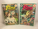 Lot of 2 Pcs Collector Vintage DC Comics Rima The Jungle Girl  Comic Books No.5.6.