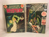 Lot of 2 Pcs Collector Vintage DC Comics  The House Of Secrets Comic Books No.93.210.