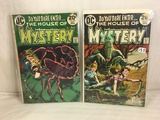 Lot of 2 Pcs Collector Vintage DC Comics The House Of Mystery  Comic Books No.219.220.