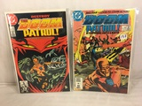 Lot of 2 Pcs Collector Vintage DC Comics The Doom Patrol  Comic Books No.1.2.