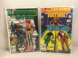 Lot of 2 Pcs Collector Vintage DC Comics The Doom Patrol  Comic Books No.3.4.