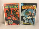Lot of 2 Pcs Collector Vintage DC Comics The Warlord  Comic Books No.40.46.
