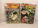Lot of 2 Pcs Collector Vintage DC Comics G.I. Combat  Comic Books No.157.158.