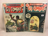 Lot of 2 Pcs Collector Vintage DC Comics G.I. Combat  Comic Books No.160.163.
