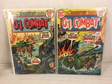 Lot of 2 Pcs Collector Vintage DC Comics G.I. Combat  Comic Books No.164.166.
