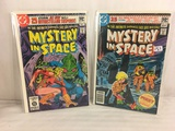 Lot of 2 Pcs Collector Vintage DC Comics  Mystery in Space Comic Books No.111.112.