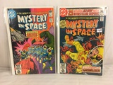 Lot of 2 Pcs Collector Vintage DC Comics  Mystery in Space Comic Books No.113.114.