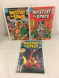Lot of 3 Pcs Collector Vintage DC Comics  Mystery in Space Comic Books No.115.116.117.