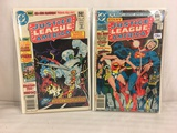 Lot of 2 Pcs Collector Vintage DC Comics Justice League Of America Comic Books No.143.193.