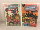Lot of 2 Pcs Collector Vintage DC Comics Justice League Of America Comic Books No.221.223.