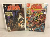 Lot of 2 Pcs Collector Vintage DC Comics  The New Teen Titans Comic Books No.37.38.
