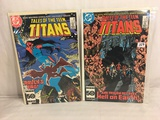 Lot of 2 Pcs Collector Vintage DC Comics  The New Teen Titans Comic Books No.62.64.