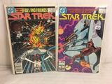 Lot of 2 Pcs Collector Vintage DC Comics  Star Trek  Comic Books No.2.3.