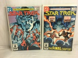 Lot of 2 Pcs Collector Vintage DC Comics  Star Trek  Comic Books No.4.5.