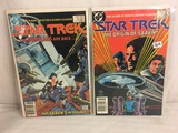 Lot of 2 Pcs Collector Vintage DC Comics  Star Trek  Comic Books No.7.8.