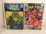 Lot of 2 Pcs Collector Vintage DC Comics  Star Trek  Comic Books No.10.24.