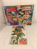 Lot of 3 Pcs Collector Vintage DC Comics  All-Star Squadron Comic Books No.11.12.13.
