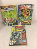 Lot of 3 Pcs Collector Vintage DC Comics  All-Star Squadron Comic Books No.17.18.19.