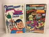 Lot of 2 Pcs Collector Vintage DC Comics  Presents Superman & Supergirl Comic Books No.28.59.