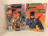 Lot of 2 Pcs Collector Vintage DC Comics Starring Superman & Batman   Comic Books No.289.292.