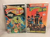 Lot of 2 Pcs Collector Vintage DC Comics  Starring Superman & Batman Comic Books No.299.318.