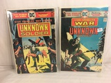 Lot of 2 Pcs Collector Vintage DC Comics  Star Spangled War Stories Unknown Soldiers No.192.197.