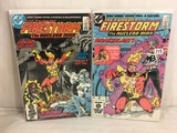 Lot of 2 Pcs Collector Vintage DC Comics The Fury Of Firestorn The Nuclear Man Comic Books No.31.35
