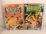 Lot of 2 Pcs Collector Vintage DC Comics Hercules Unbound Comic Books No.7.8.