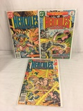 Lot of 3 Pcs Collector Vintage DC Comics Hercules Unbound Comic Books No.9.10.11.