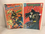 Lot of 2 Pcs Collector Vintage DC Comics  Detective Comics Starring Batman Comic Books No.556.573.