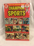 Collector Vintage DC Comics  Champion Sports Comic Book No.1
