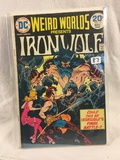 Collector Vintage DC Comics Weird Worlds Presents Iron Wolf  Comic Book No.10
