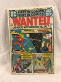 Collector Vintage DC Comics  Wanted Comic Book No.1