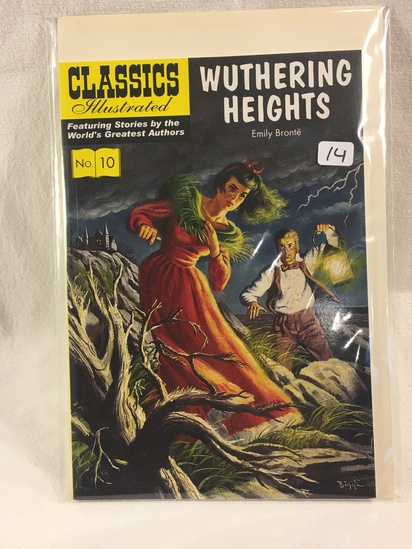 Collector Vintage Classics Illustrated Comics Wuhering Heights Comic Book No.10