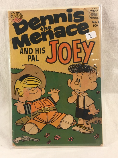 Collector Vintage Fawcett Comics Dennis The Menace and His Pal Joey Comic Book No.1