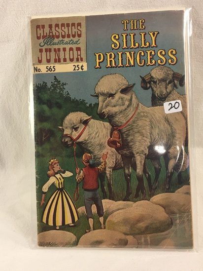Collector Vintage Classics Illustrated Comics The Silly Princess Comic Book No.565