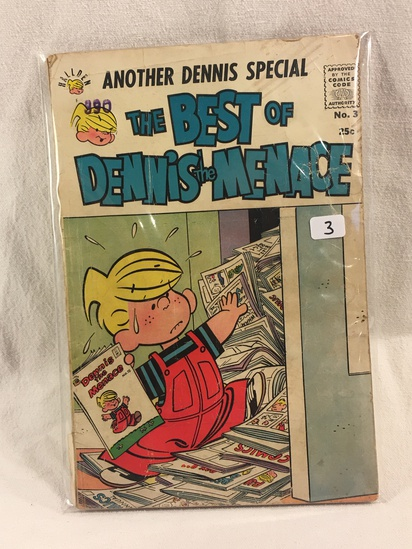 Collector Vintage Fawcett Comics Another Dennis Special The Best Of Dennis The Menace No.3