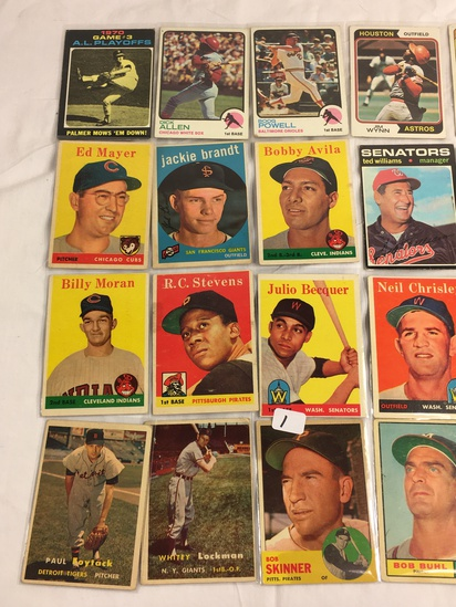 COLLECTOR MIX VINTAGE & MODERN SPORT TRADING CARDS