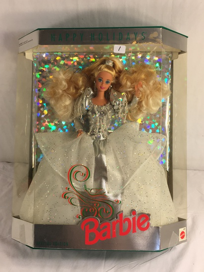 "Collector NIP 1992 Mattel Holiday Celebration Barbie Doll  11-12"" Tall Doll - See Pictures"